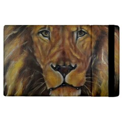 Cecil The African Lion Apple Ipad 3/4 Flip Case by timelessartoncanvas