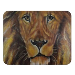 Cecil The African Lion Double Sided Flano Blanket (large)