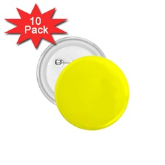 Bright Fluorescent Yellow Neon 1.75  Buttons (10 pack) by PodArtist
