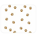 Tiger Paw Double Sided Flano Blanket (Medium)