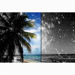 Caribbean Dreaming Collage 12  x 18  by stineshop