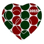 Ornament 2015 - Ornament (Heart)