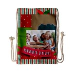 xmas - Drawstring Bag (Small)