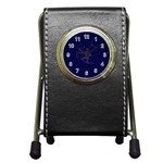 Sagittarius Stars Pen Holder Desk Clock