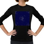Sagittarius Stars Women s Long Sleeve Dark T-Shirt