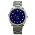 Sagittarius Stars Sport Metal Watch