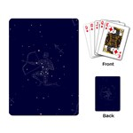 Sagittarius Stars Playing Cards Single Design