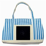 Sagittarius Stars Striped Blue Tote Bag