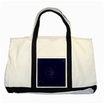Sagittarius Stars Two Tone Tote Bag