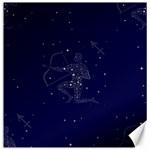 Sagittarius Stars Canvas 16  x 16