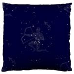 Sagittarius Stars Standard Flano Cushion Case (One Side)