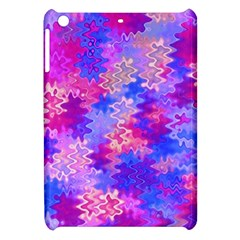 Pink and Purple Marble Waves Apple iPad Mini Hardshell Case by KirstenStar