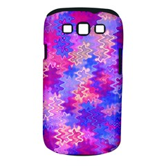 Pink And Purple Marble Waves Samsung Galaxy S Iii Classic Hardshell Case (pc+silicone) by KirstenStar
