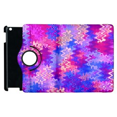 Pink And Purple Marble Waves Apple Ipad 3/4 Flip 360 Case by KirstenStar