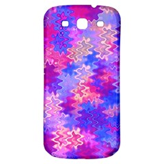 Pink And Purple Marble Waves Samsung Galaxy S3 S Iii Classic Hardshell Back Case by KirstenStar