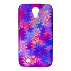 Pink And Purple Marble Waves Samsung Galaxy Mega 6 3  I9200 Hardshell Case by KirstenStar