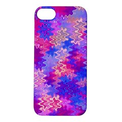 Pink And Purple Marble Waves Apple Iphone 5s Hardshell Case by KirstenStar