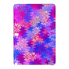 Pink And Purple Marble Waves Samsung Galaxy Tab Pro 12 2 Hardshell Case by KirstenStar