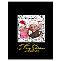 Xmas By M Jan   Drawstring Bag (large)   4dzp0eos5nmz   Www Artscow Com Front