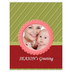 Xmas By M Jan   Drawstring Bag (large)   Me3cybdushv7   Www Artscow Com Front