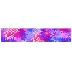 Pink And Purple Marble Waves Flano Scarf (large)
