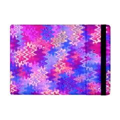Pink And Purple Marble Waves Apple Ipad Mini Flip Case by KirstenStar