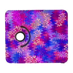 Pink And Purple Marble Waves Samsung Galaxy S  Iii Flip 360 Case by KirstenStar