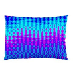 Melting Blues And Pinks Pillow Cases (two Sides) by KirstenStar