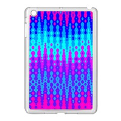 Melting Blues and Pinks Apple iPad Mini Case (White) by KirstenStar