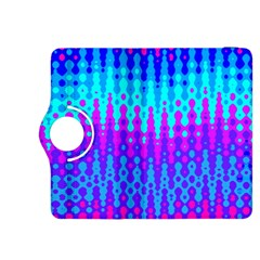 Melting Blues And Pinks Kindle Fire Hdx 8 9  Flip 360 Case