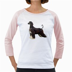 Afghan Hound Full Girly Raglans by TailWags