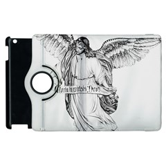 Angel Drawing Apple Ipad 2 Flip 360 Case by TailWags