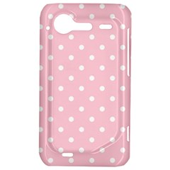 Pink Polka Dots HTC Incredible S Hardshell Case  by LokisStuffnMore