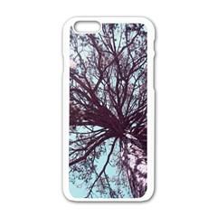 Under Tree  Apple iPhone 6 White Enamel Case by infloence