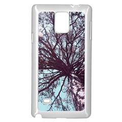 Under Tree  Samsung Galaxy Note 4 Case (White) by infloence
