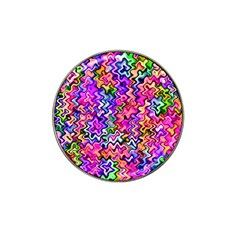 Swirly Twirly Colors Hat Clip Ball Marker (4 Pack) by KirstenStar