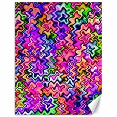 Swirly Twirly Colors Canvas 12  x 16   by KirstenStar