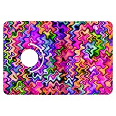 Swirly Twirly Colors Kindle Fire HDX Flip 360 Case by KirstenStar