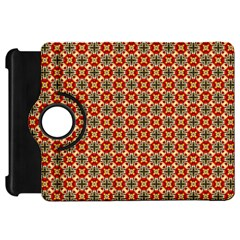 Cute Pretty Elegant Pattern Kindle Fire Hd Flip 360 Case by creativemom