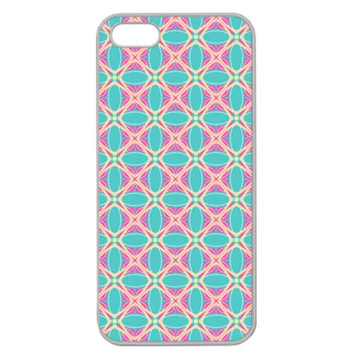 Cute Pretty Elegant Pattern Apple Seamless iPhone 5 Case (Clear)