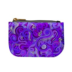 Lavender Swirls Mini Coin Purses by KirstenStar