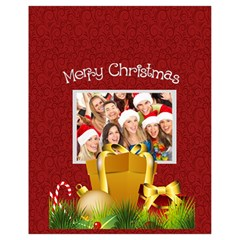 Xmas By Angena Jolin   Drawstring Bag (small)   6r6ikpzm3v90   Www Artscow Com Back