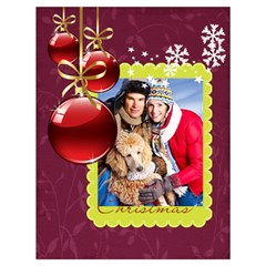 Xmas By Angena Jolin   Drawstring Bag (large)   4vzdyit53zyf   Www Artscow Com Back