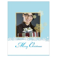 Xmas By Angena Jolin   Drawstring Bag (large)   8xm62dh891u3   Www Artscow Com Front