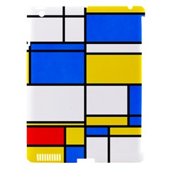 Colorful Rectangles Apple Ipad 3/4 Hardshell Case (compatible With Smart Cover) by LalyLauraFLM