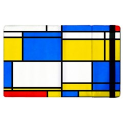 Colorful Rectangles Apple Ipad 2 Flip Case by LalyLauraFLM