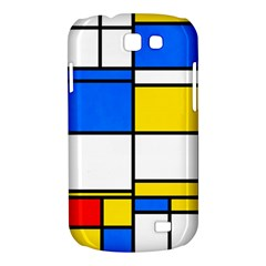 Colorful rectangles Samsung Galaxy Express I8730 Hardshell Case  by LalyLauraFLM