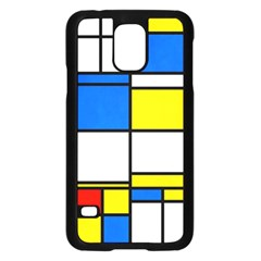Colorful Rectangles	samsung Galaxy S5 Case
