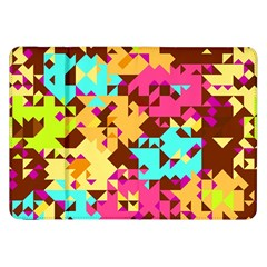 Shapes in retro colors Samsung Galaxy Tab 8.9  P7300 Flip Case by LalyLauraFLM