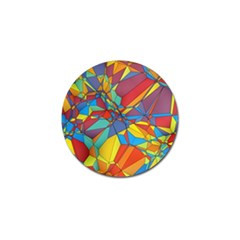 Colorful Miscellaneous Shapes Golf Ball Marker (10 Pack) by LalyLauraFLM